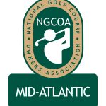 Logo - NGCOA Golf Leader Award will be presented by Up to Par and the NGCOA Mid-Atlantic Chapter